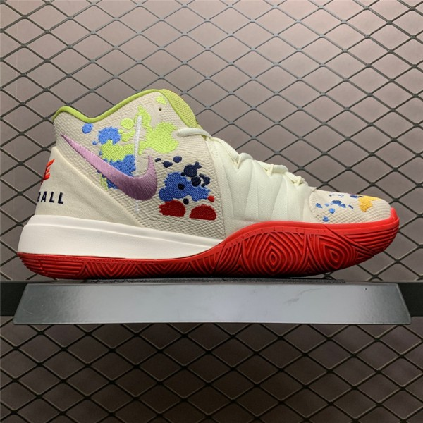 Bandulu x Nike Kyrie 5 Embroidered Splatters Sneaker For Men