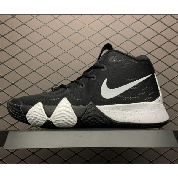 Nike Kyrie 4 1990s With the Decades Pack Black White For Men