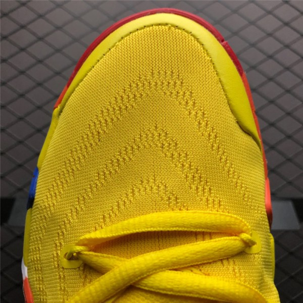 Nike Kyrie 4 70s Yellow Multicolor For Men