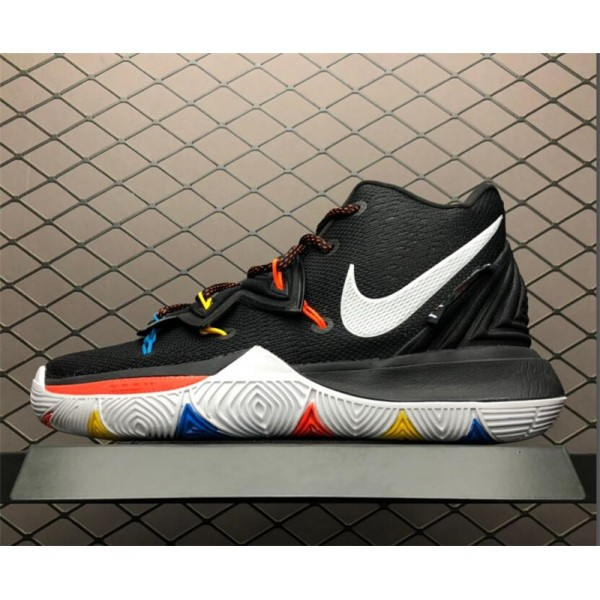 Nike Kyrie 5 EP Friends Black White-Bright Crimson For Men