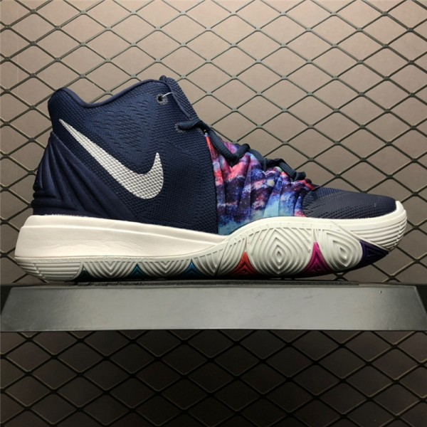 Nike Kyrie 5 EP Navy Multi-Color Size AO2919-900 For Men