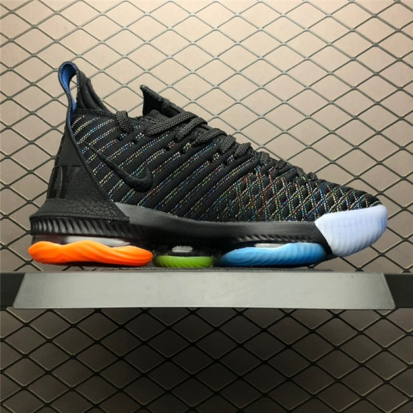 Nike LeBron 16 I Promise Black Multi-Color For Men