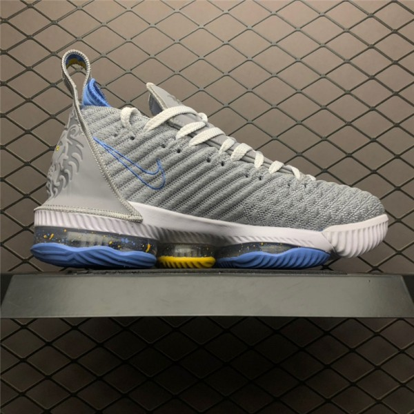 Nike LeBron 16 MPLS Wolf Grey White-University Blue For Men