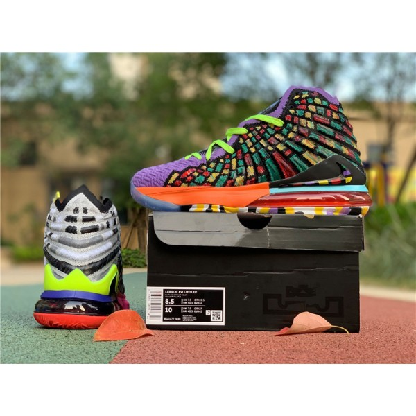 Nike LeBron 17 XVII LMTD EP Multi-Color For Men