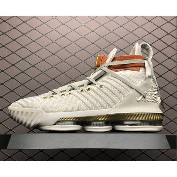 Nike LeBron 16 HFR Sail White Light Bone For Men