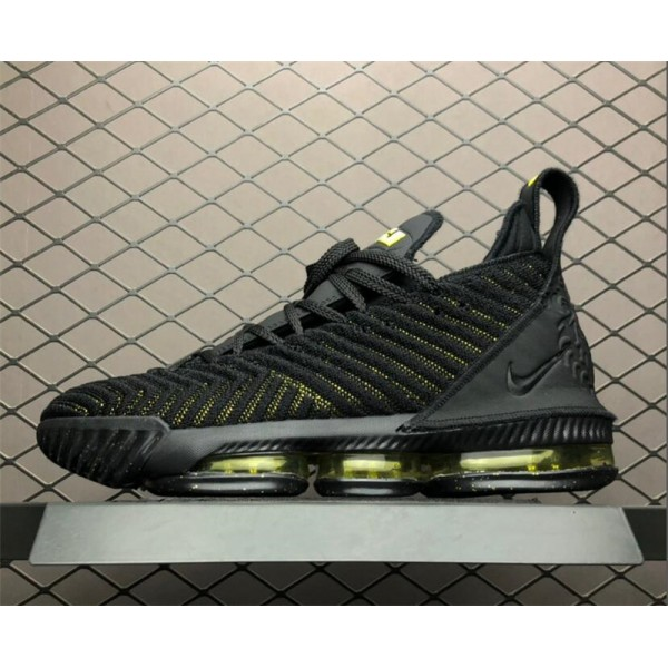 Nike LeBron 16 Black Green AO2595-700 For Men