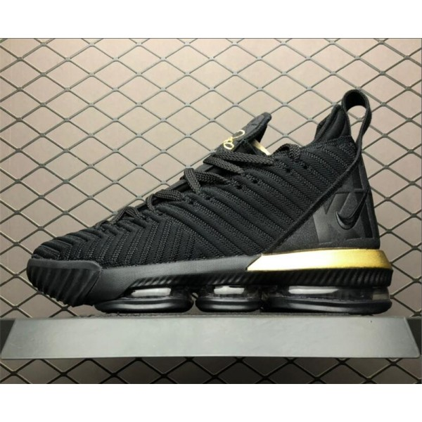 Nike LeBron 16 Im King Black Gold To BQ5970-007 For Men