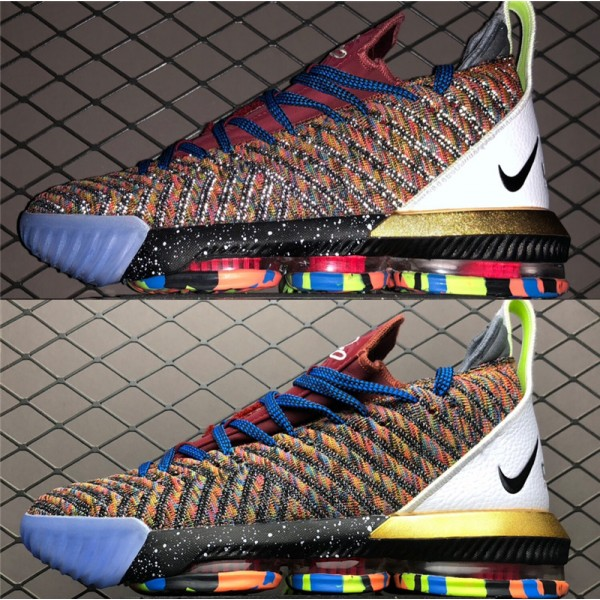 Nike LeBron 16 XVI EP What The Multi-Color For Men