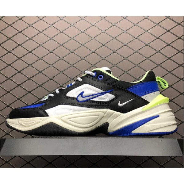 Nike M2K Tekno Royal Black-Royal Blue-Volt For Men