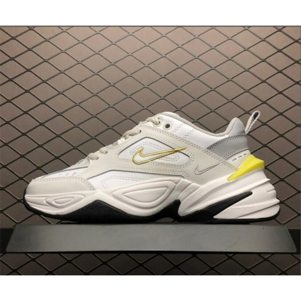 Nike M2K Tekno Platinum Tint Celery Dad Shoes