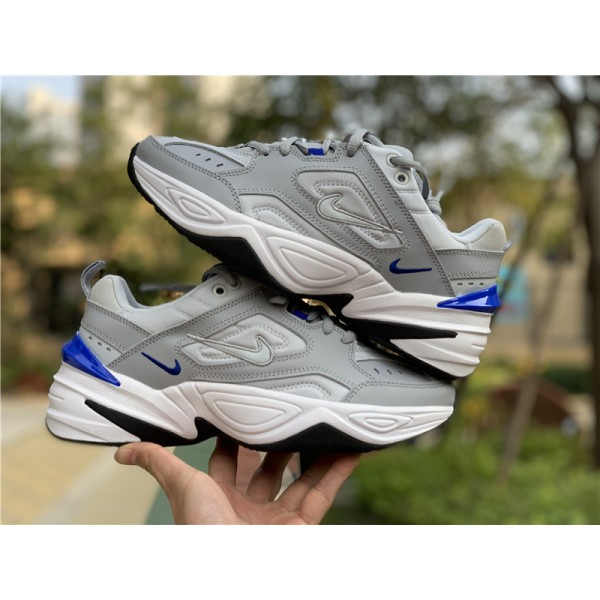 Nike M2K Tekno Racer Blue Wolf Grey Pure Platinum-White For Men