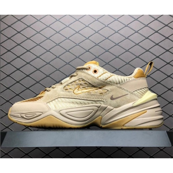 Nike M2K Tekno Shoes Linen Ale Brown-Wheat