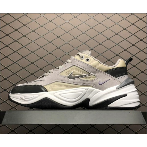 Nike M2K Tekno Sportswear Grey Black White For Men
