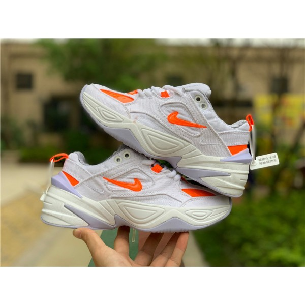 Nike M2K Tekno LX Denim White Hyper Crimson For Women