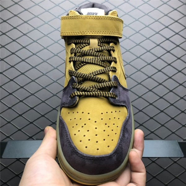 Nike SB Dunk Mid Lewis Marnell Cappuccino Wheat-Bronze For Men
