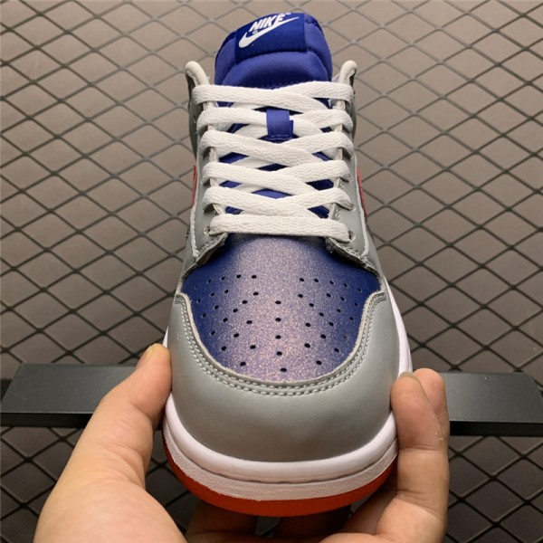 Nike Dunk Low Samba Hyper Blue Samba-Silver On Sale