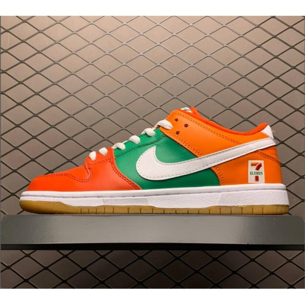 7-Eleven x Nike SB Dunk Low Red Orange Green White