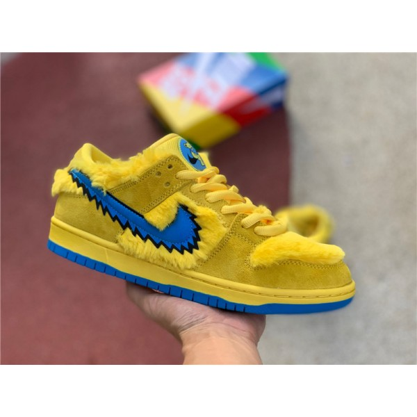 Grateful Dead x Nike SB Dunk Low Yellow Blue Fury