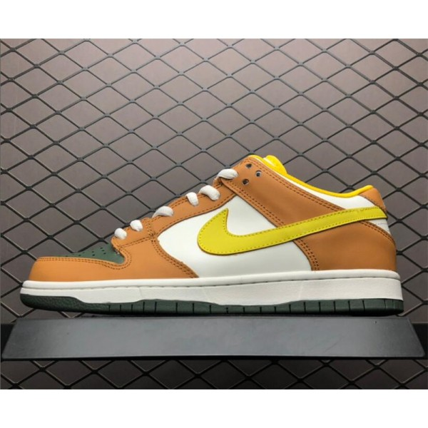 Nike Dunk SB Low Vapour Mineral Yellow 304292-271 For Men