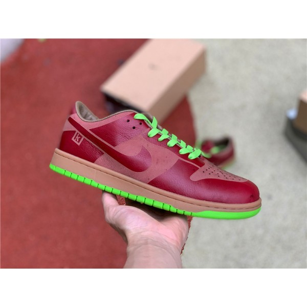 Nike Dunk Low 1-Piece Laser Varsity Red Chartreuse For Men