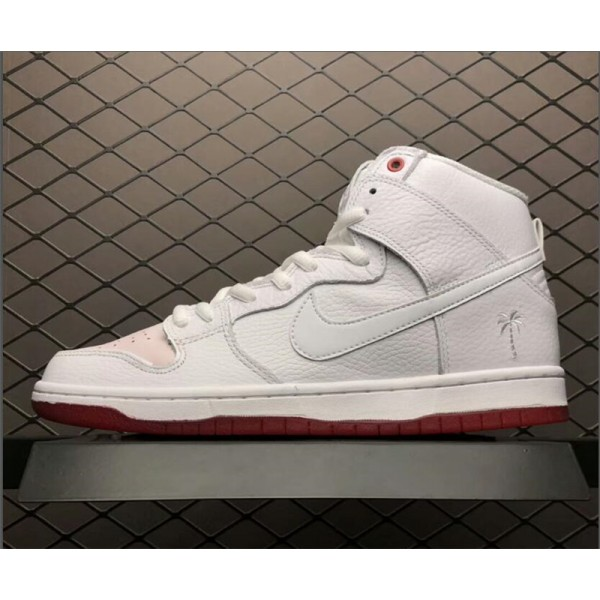 Nike SB Dunk High Kevin Bradley University Red-White For Men