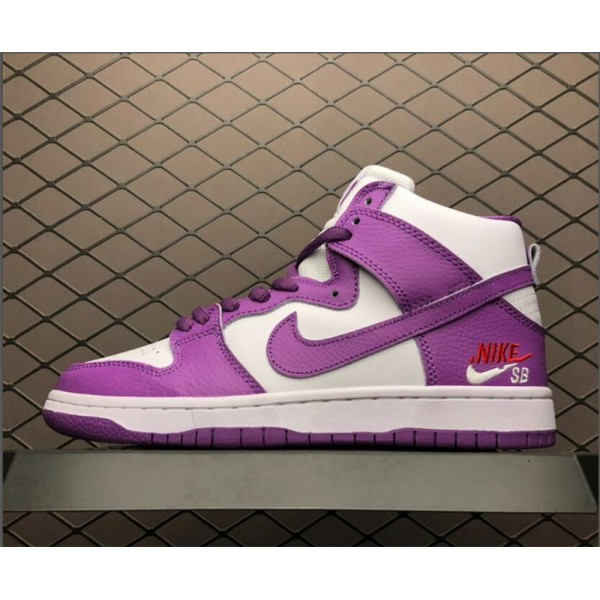 Nike SB Zoom Dunk High PRO Purple White For Women