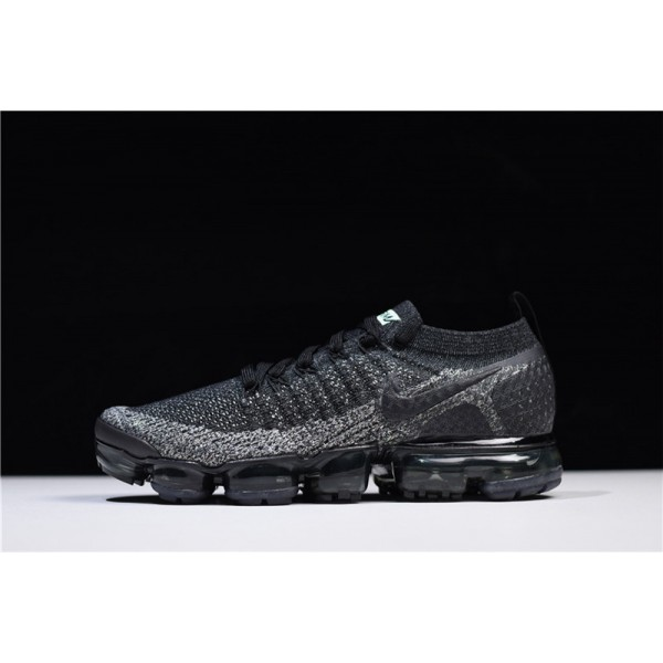 Nike Air VaporMax Flyknit 2.0 Black Black-Dark Grey Online For Men