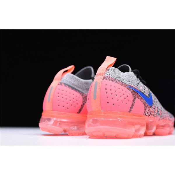 Nike Air VaporMax 2.0 Grey Ultramarine-Hot Punch For Women