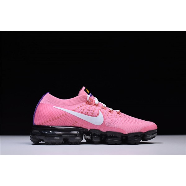 Nike Air Vapormax Flyknit 2.0 Pink White Running For Women