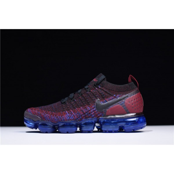 Nike Air VaporMax Flyknit 2 Team Red Running Shoes For Women
