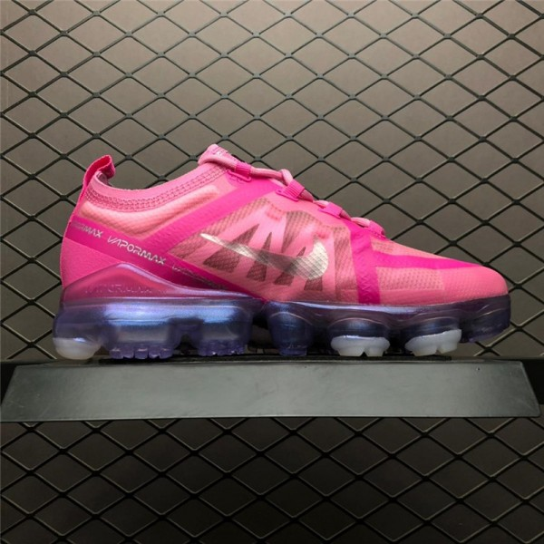 Nike Air VaporMax Pink Silver For Women