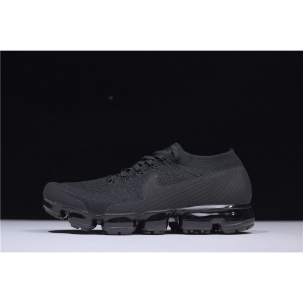 Nike Air Vapormax Flyknit Triple Black Black-Anthracite-White For Men
