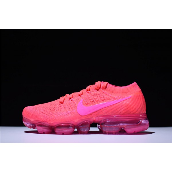 Nike Air VaporMax Flyknit Hyper Punch Pink Blast Size For Women